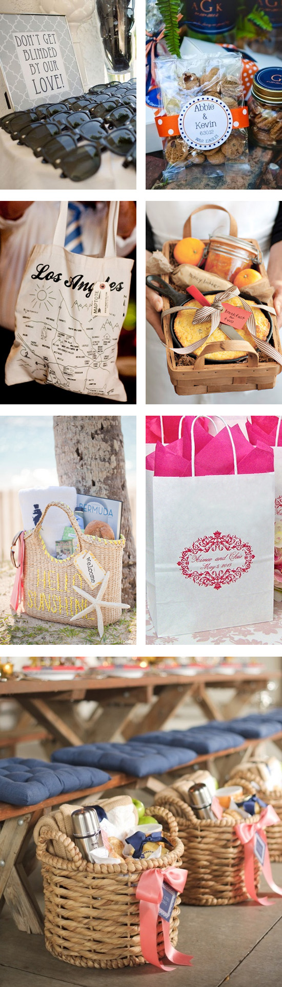 Wedding Gift Bag Suggestions : Wedding Welcome Gift Bags, Ideas, and Inspiration