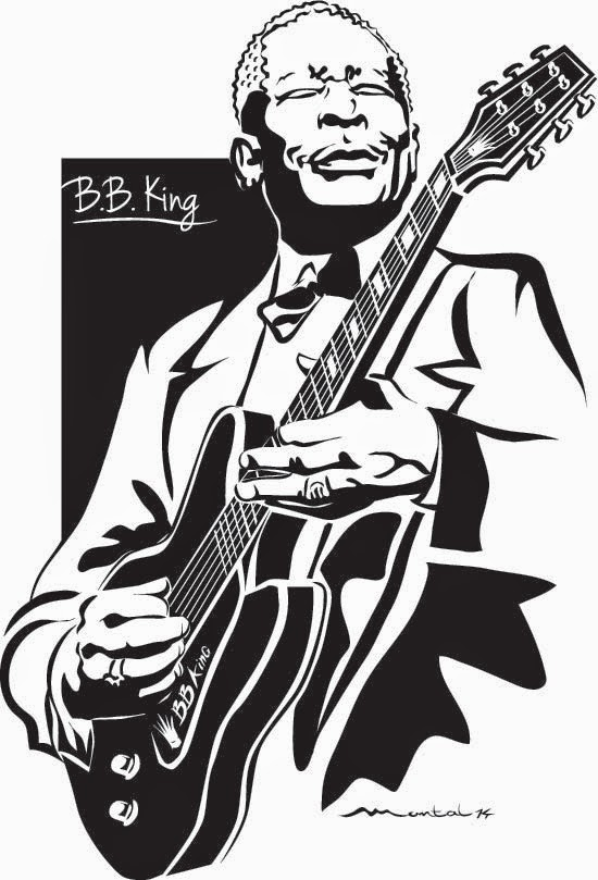 Vinilo decorativo de BB King