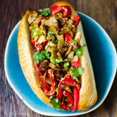 Vegan Philly Cheesesteak
