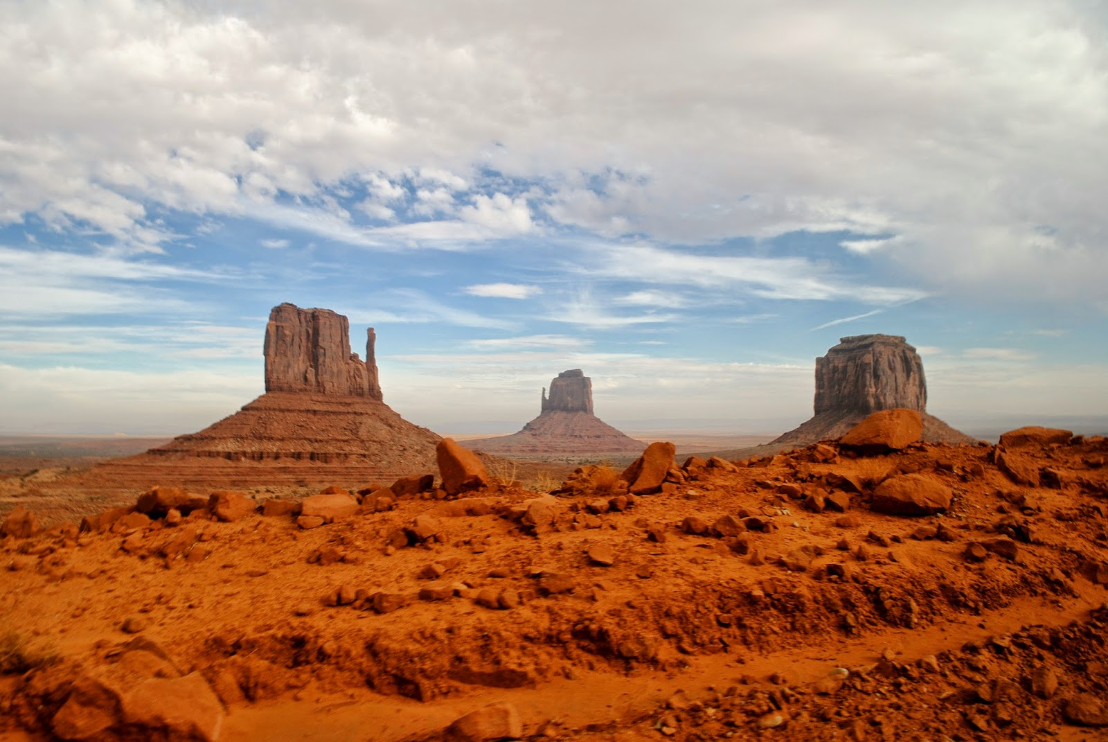 Visiting Monument Valley in Winter with Topdeck Travel