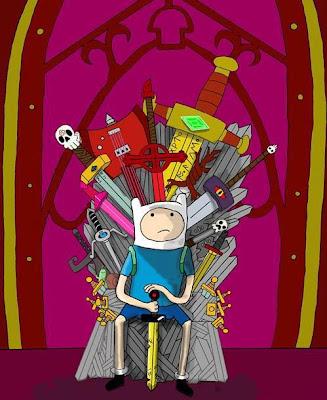 Finn trono de hierro - Juego de Tronos en los siete reinos