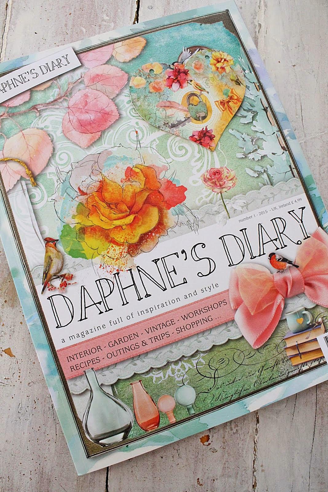 I dette magasinet ble det viet mange vakre sider fra Vibeke Design