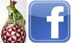 Frösche auf Facebook