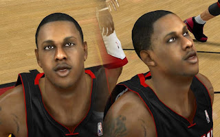 NBA 2K13 Mario Chalmers Cyber Face Mod