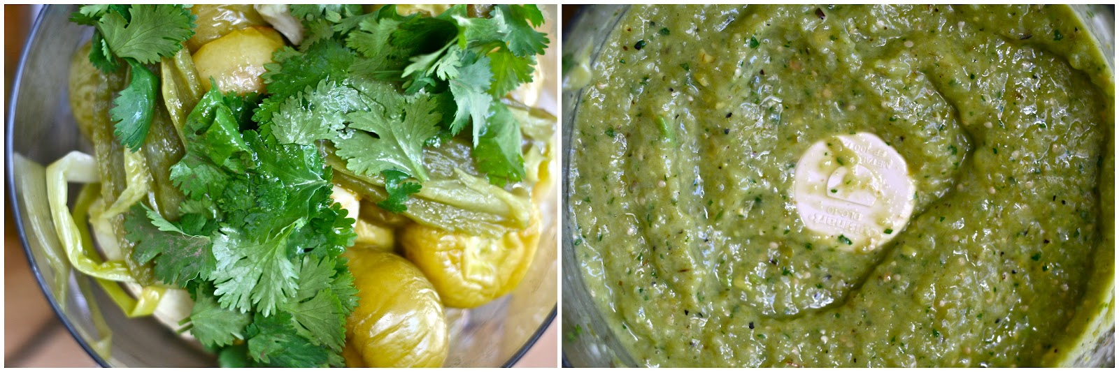 Tomatillo-Avocado Salsa With Tortilla Chips Recipes — Dishmaps