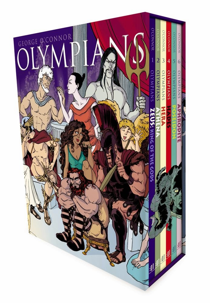 Olympians Book Club The Next Book in Olympians
