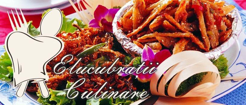 Elucubratii culinare