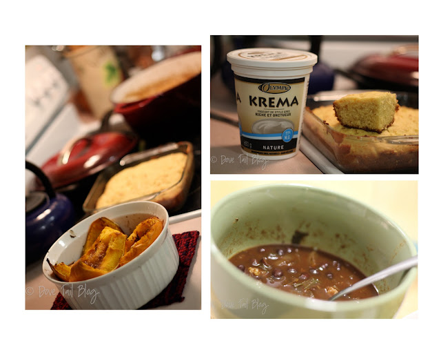 Baja Baked Black Beans & Cornbread {Thanks Rebar!}