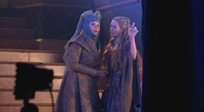 Olenna Tyrell y Cersei Lannister - Juego de Tronos en los siete reinos