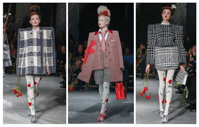 Thom Browne A/W 2013 Grids and Tweed