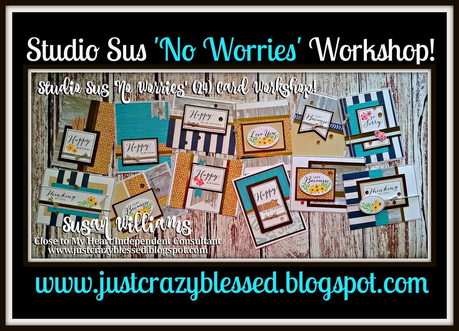 'No Worries' Cardmaking Workshop!