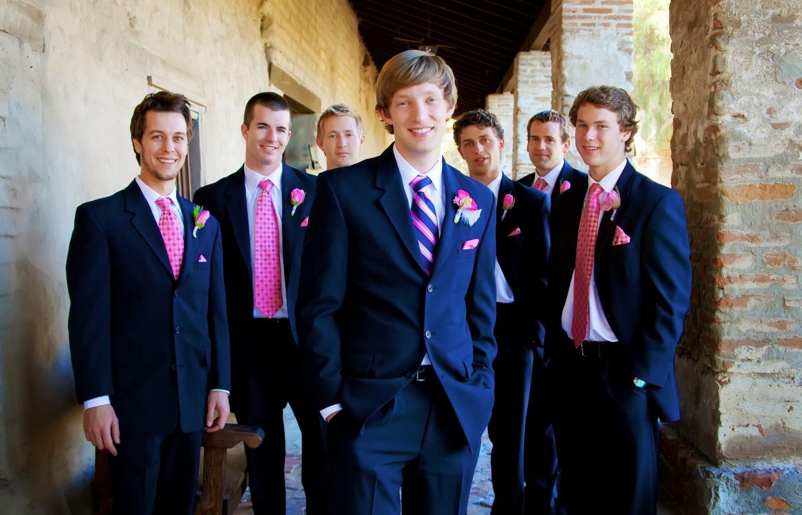 Галстук гостю на свадьбу