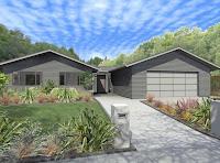 modelo de casa que parecen 2 casas
