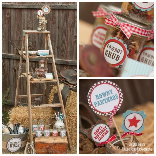 Western Decor For Birthday: Classic Cowboy Birthday Party