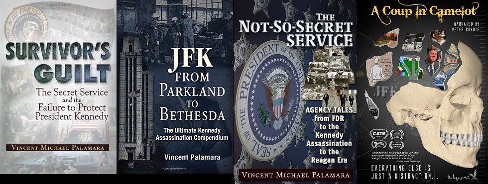 """SURVIVOR'S GUILT"" , ""JFK: FROM PARKLAND TO BETHESDA"", ""THE NOT SO SECRET SERVICE"" + DVD"