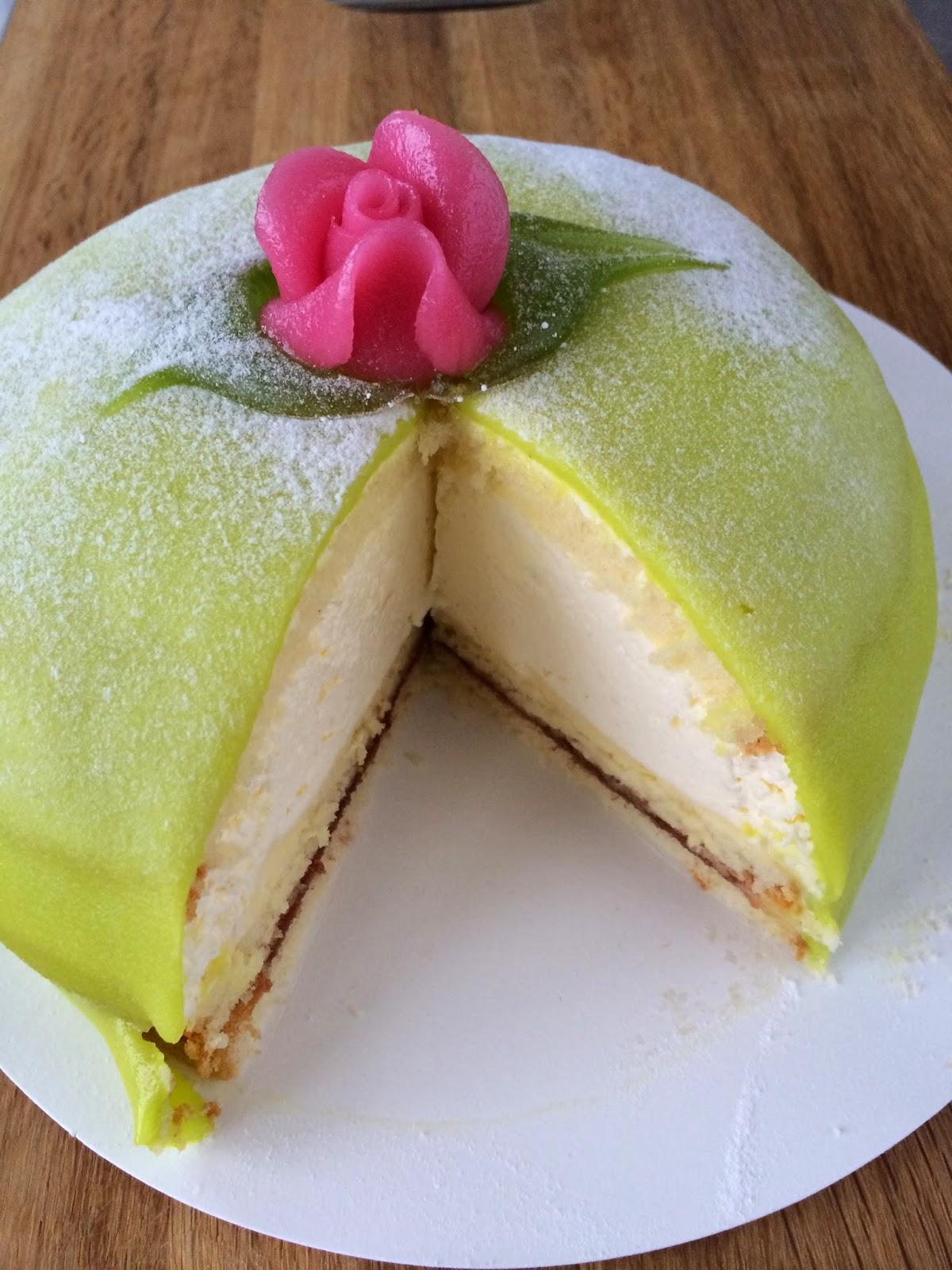 A Swedish classic - Princess Cake