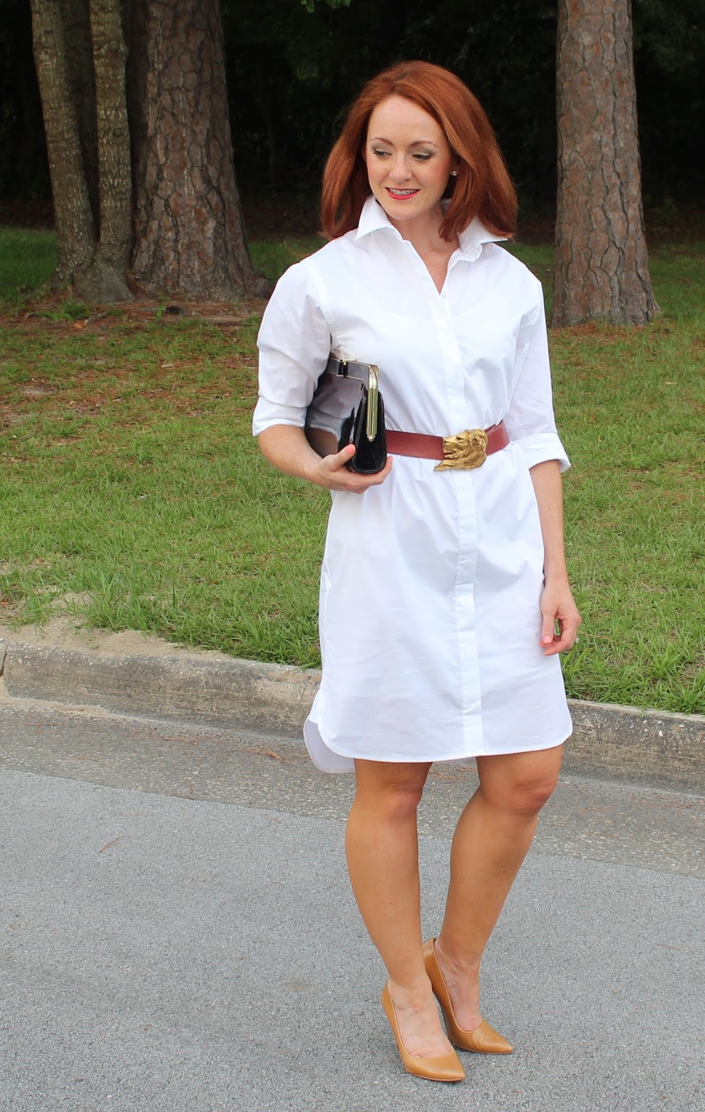 Dress beautifully crisp white shirtdress for Crisp white dress shirt