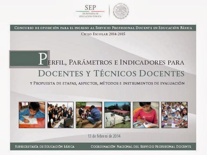 SEP-Concurso de Oposición para el Ingreso al Servicio Profesional Docente en Educación Básica