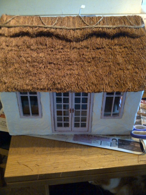 how to make a straw house for a school project