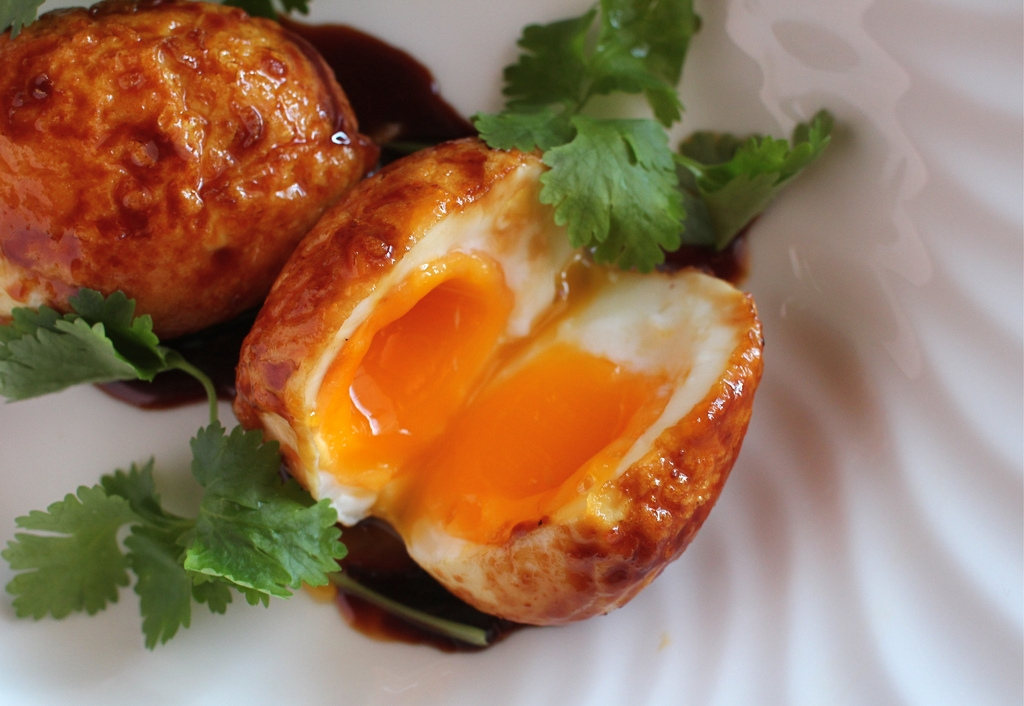 ... Endeavours of the Blue Apocalypse: Son-in-law eggs with Chilli Caramel