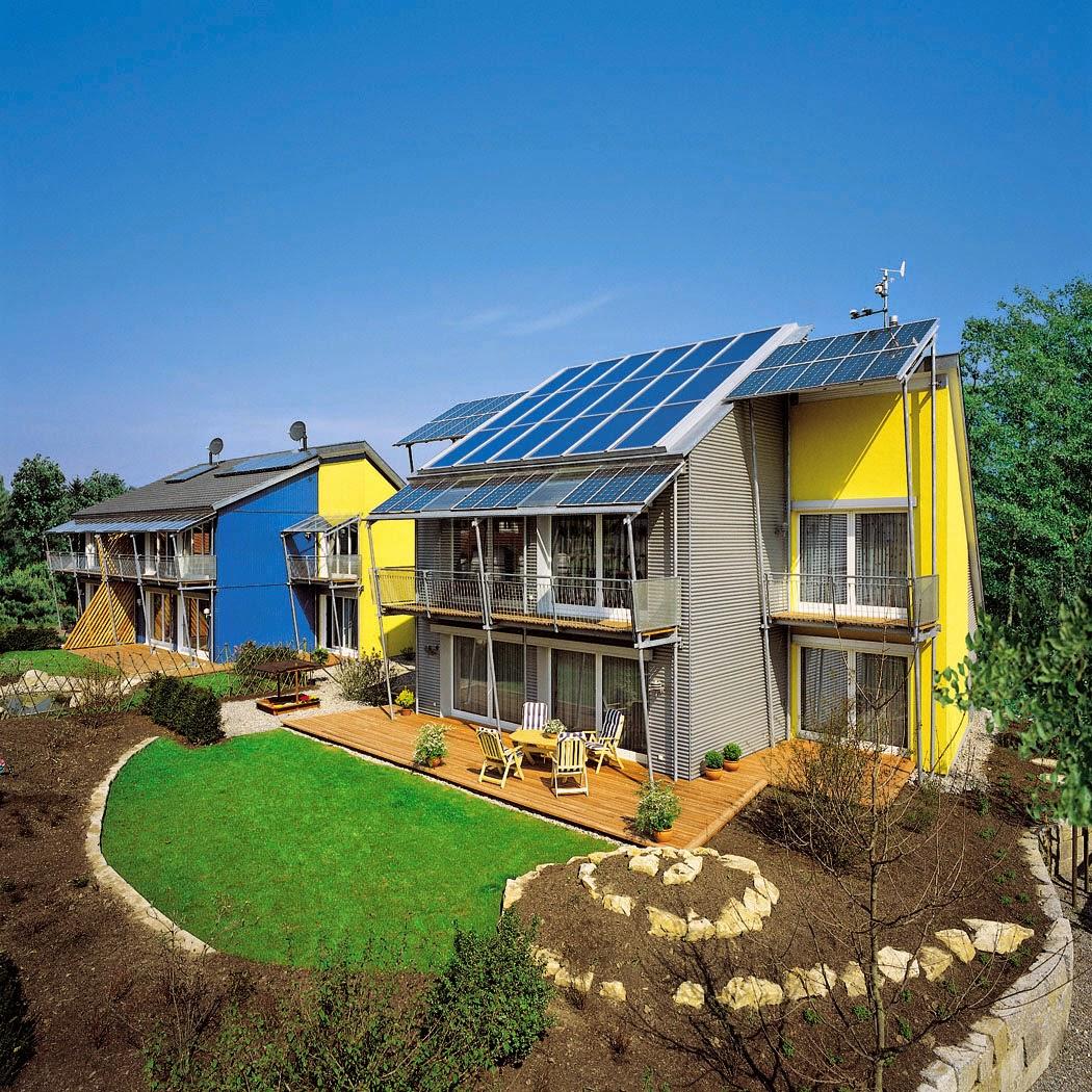 Conheça um bairro que produz mais energia que consome