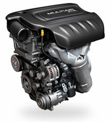 Dodge 2.4 liter Tigershark MultiAir II engine
