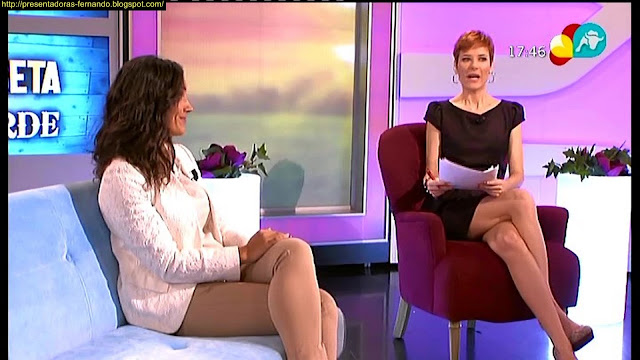 Noelia Atance piernas