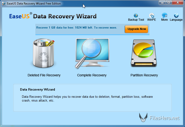 EaseUS Data Recovery Wizard 1190 License Code + Crack