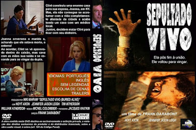 Filme Sepultado Vivo (Buried Alive) DVD Capa