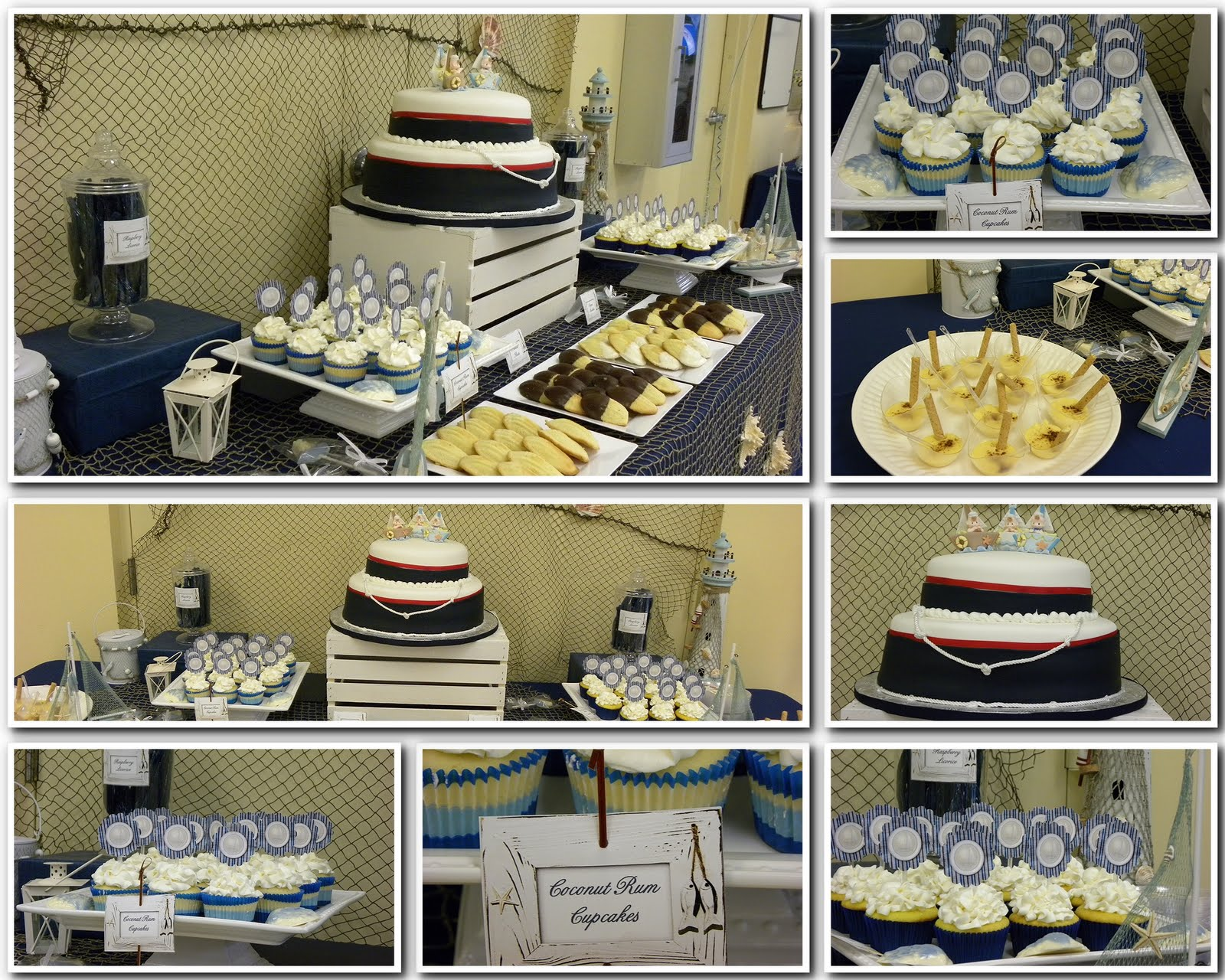 sailor themed baby shower