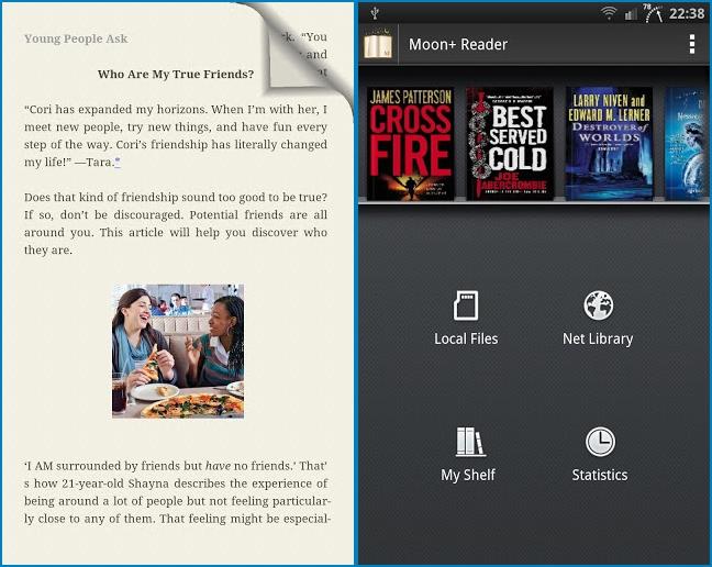 Moon+ Reader Pro v1.5.9 Apk