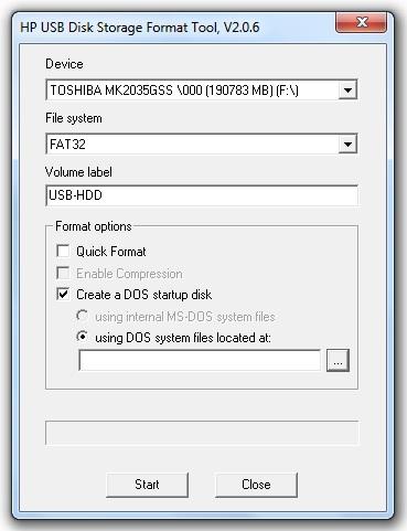Как сделать низкоуровневое форматирование из под дос