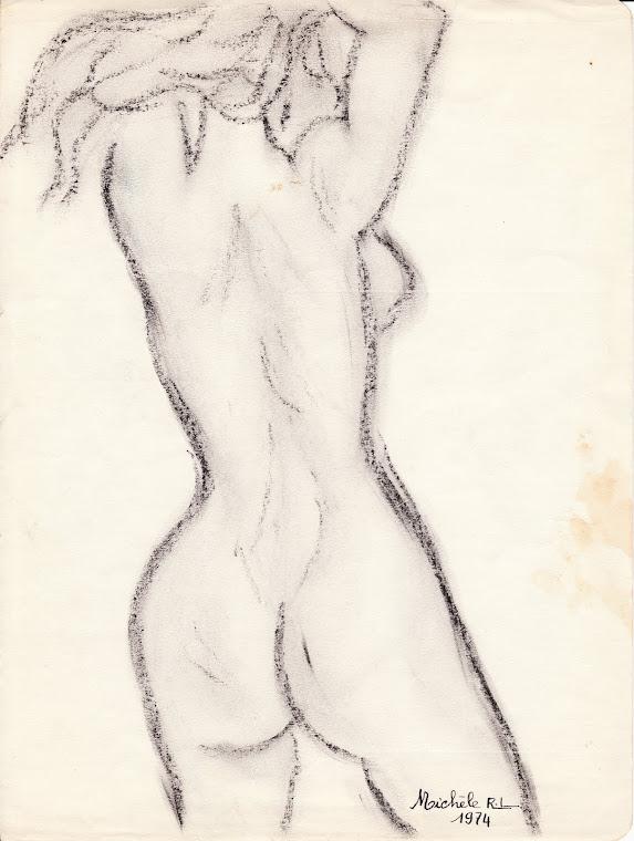 001 - 00001974 - NU DE FEMME - AUTOPORTRAIT