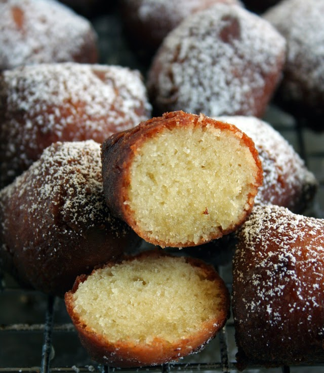 Fried Pound Cake Bites Recipe