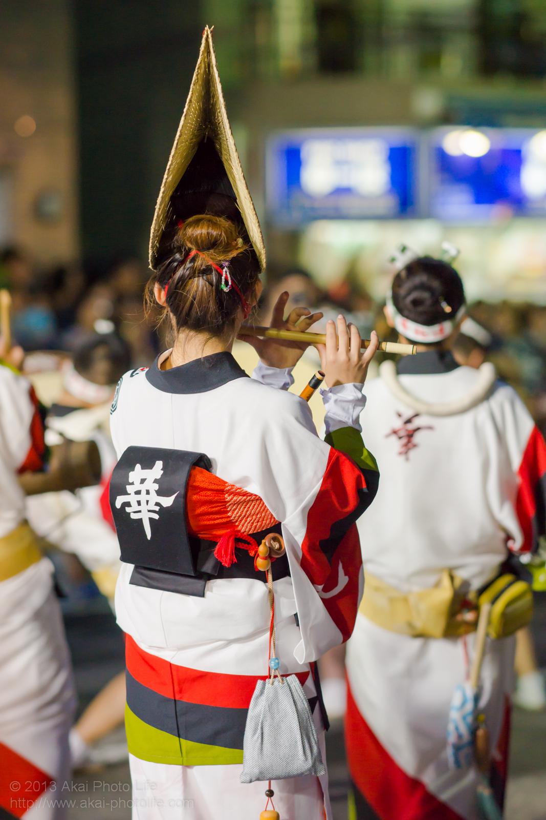 高円寺阿波踊り 華純連の鳴り物