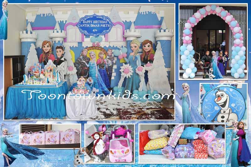 Frozen theme