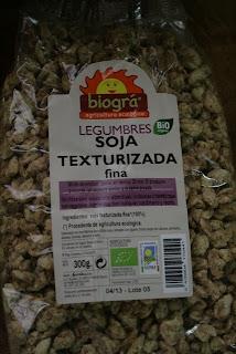 Can cigaleta cocinando con soja texturizada - Como cocinar soja texturizada ...