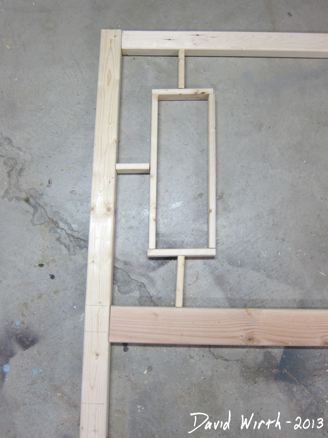 how to build a waterbed headboard