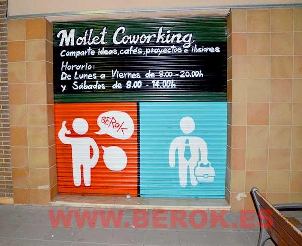 Mural Mollet Coworking