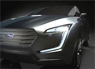 Subaru bringt das Viziv Concept mit zum Genfer Automobil Salon 2013