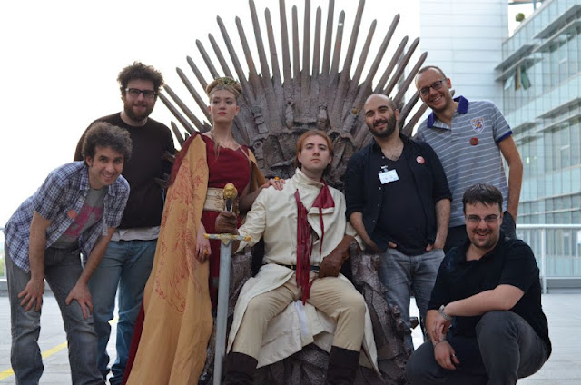 Game of thrones trono di spade sky hbo cosplayer lannister
