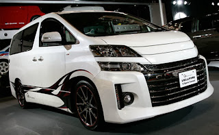 modifikasi Toyota Alphard