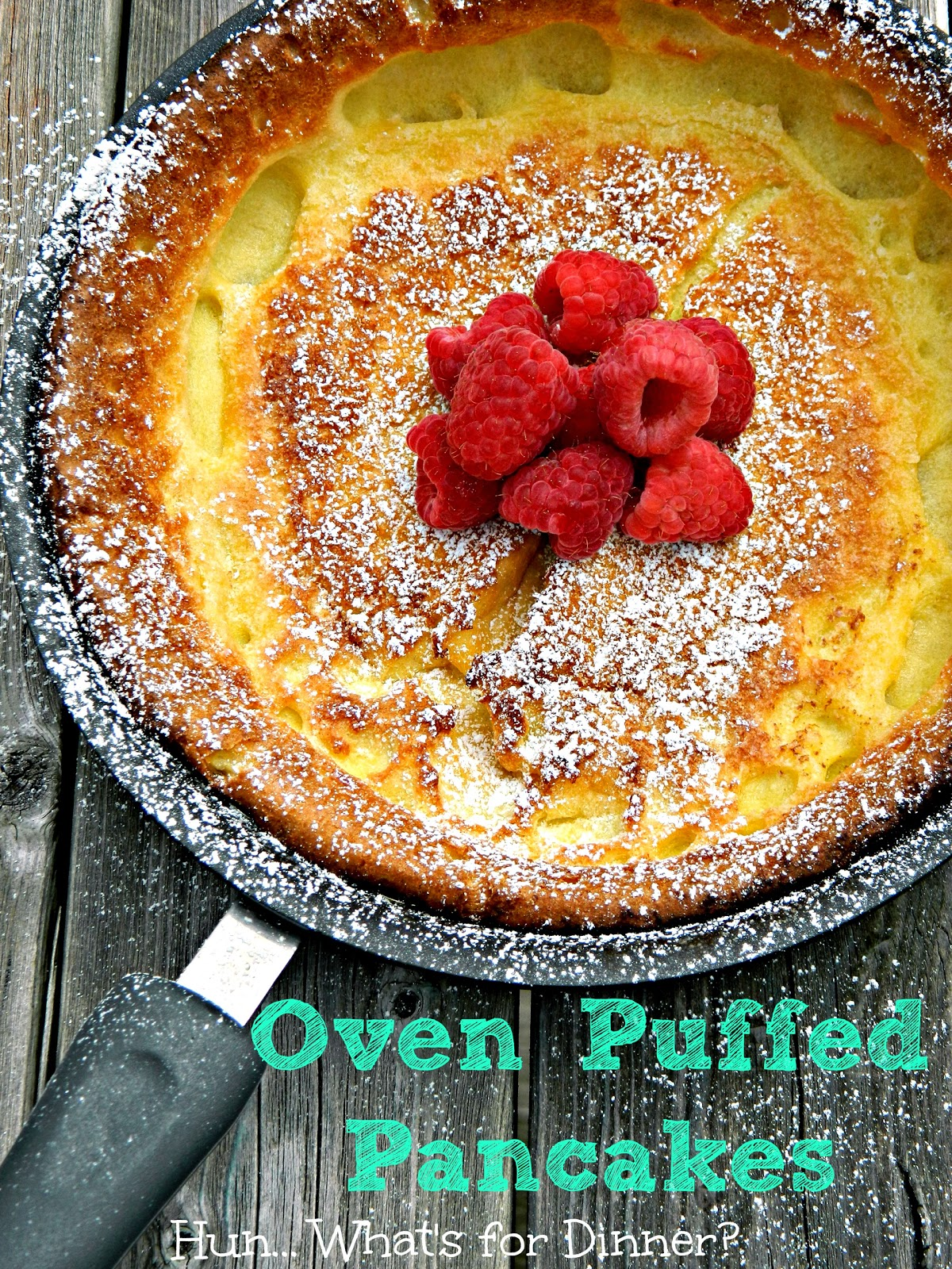 Hun... What's for Dinner? | Oven Puffed Pancakes #GayLeaFoods
