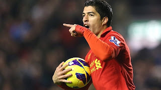 Luis Suarez is Liverpool's Lionel Messi, says Brendan Rodgers