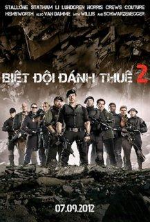 Xem Phim Biệt Đội Đánh Thuê 2 - The Expendables 2 2012