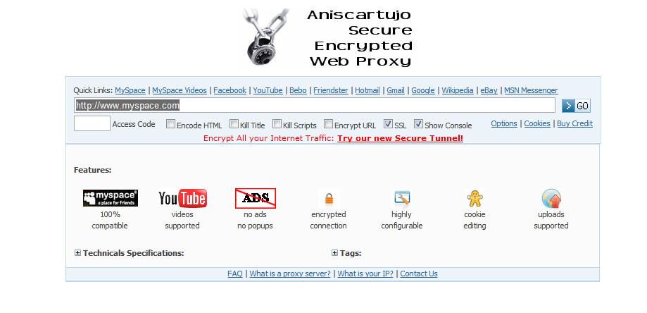 proxy website not blocked