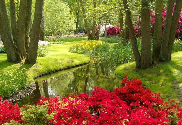 world's largest flower garden