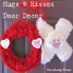 Hugs & Kisses Valentine Door Decoration