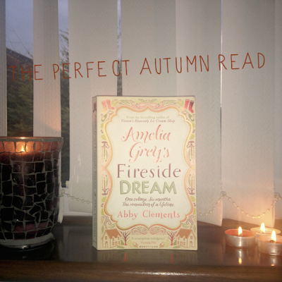 Inspire Magazine Online - UK Fashion, Beauty and Lifestyle Blog: book review, amelia grey's fireside dream, abby clements border=