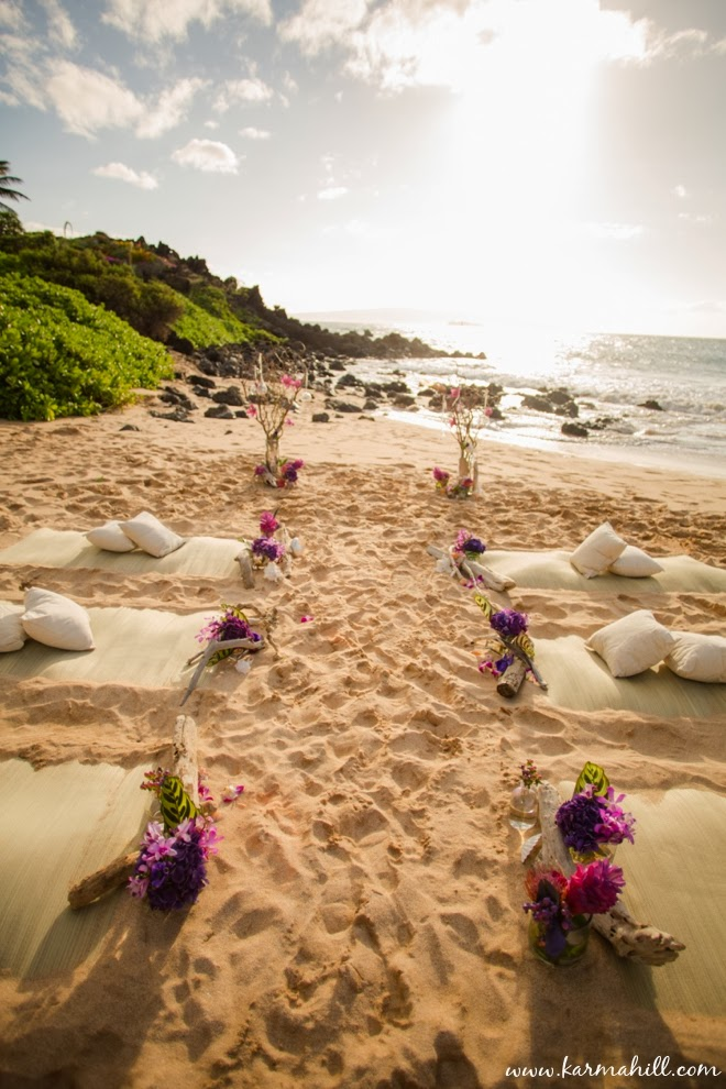 vivian brandons styled maui wedding at southside beach by simple maui wedding